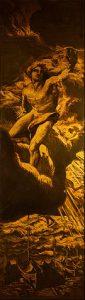 Josep Maria Sert, Apollo flying through the Clouds (1913)
