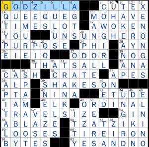 NYT 6.2.18 Puzzle