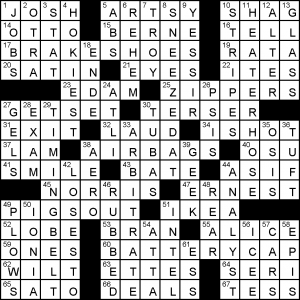 Friday, July 6, 2018 | Diary of a Crossword Fiend