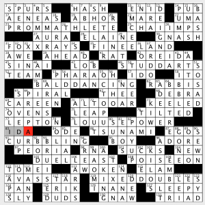 photo relating to Washington Post Crossword Puzzle Printable named Sunday, August 19, 2018 Diary of a Crossword Fiend