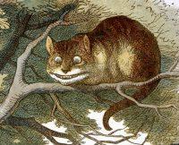 John Tenniel's original illustration of the CHESHIRE CAT for Alice's Adventures in Wonderland, 1865