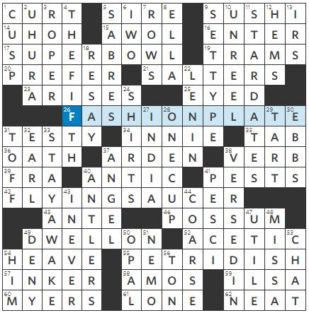 Harold Joness Mike Shenks Wall Street Journal Crossword Cabinet Members Jim Ps Review