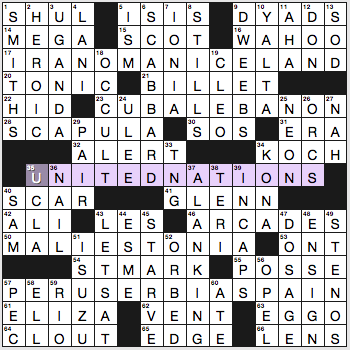 single minded crossword by marilyn lieb