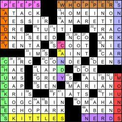 Heart hook up crossword