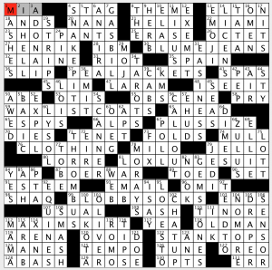 photo about Washington Post Sunday Crossword Printable called Sunday, February 10, 2019 Diary of a Crossword Fiend