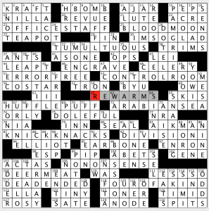 Sunday February 17 2019 Diary Of A Crossword Fiend