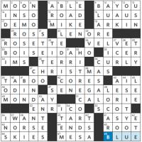 WSJ Crossword Solution 04 30 19