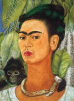 Frida Kahlo, Self-portrait with Monkey, 1938