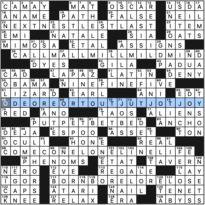 Saturday July 13 2019 Diary Of A Crossword Fiend