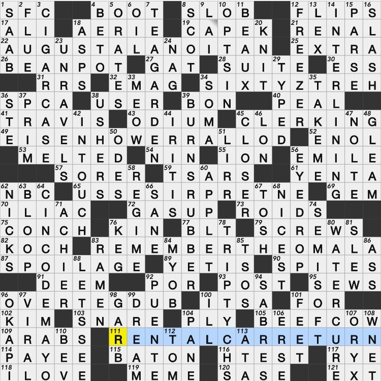 phrase on a coin crossword