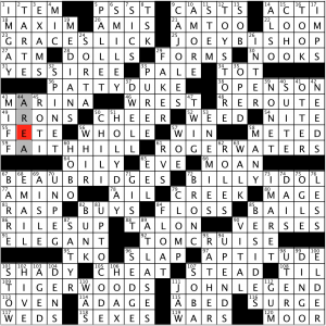 Sunday March 15 2020 Diary Of A Crossword Fiend