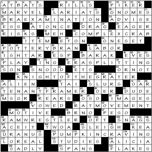 Saturday April 11 2020 Diary Of A Crossword Fiend