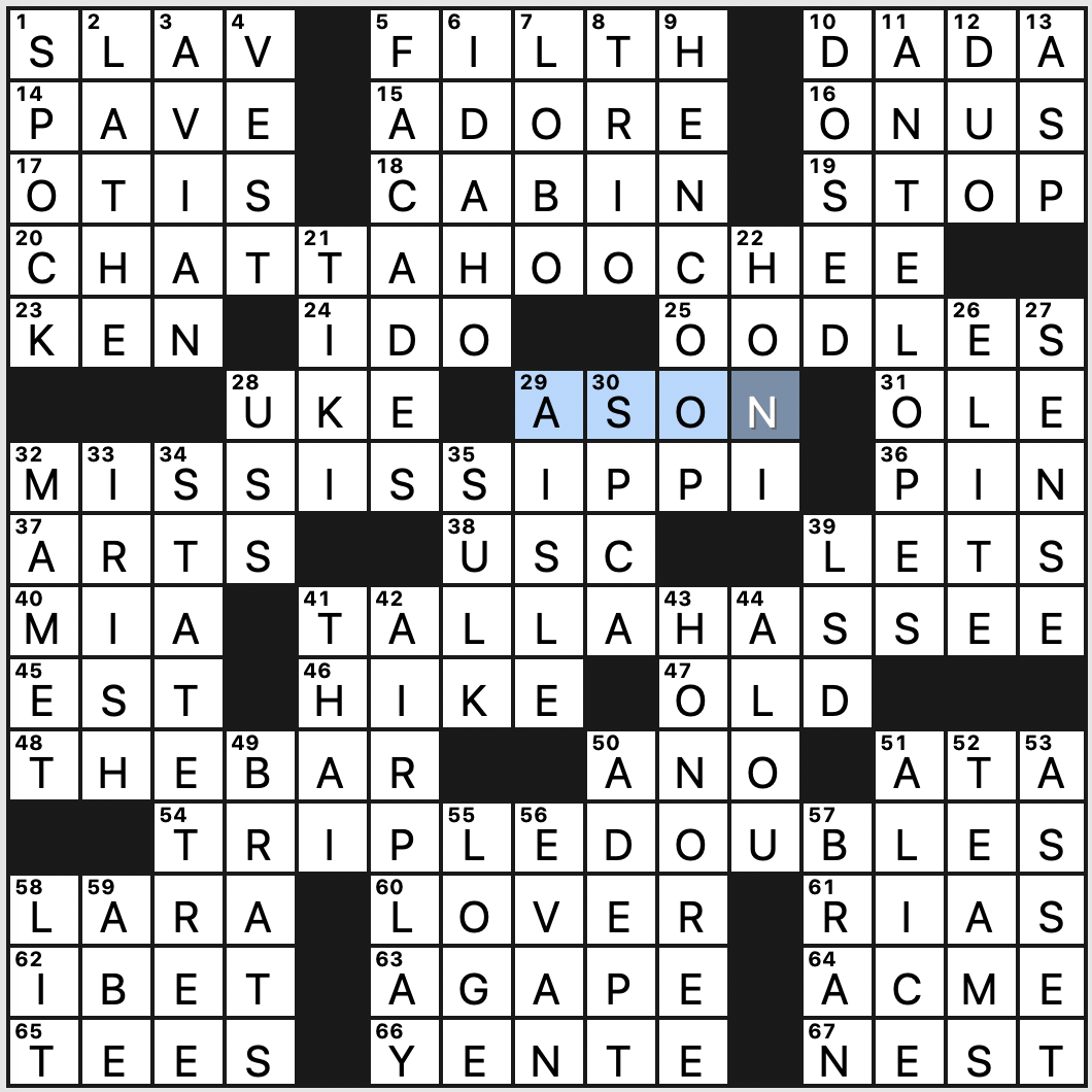 Wednesday June 24 2020 Diary Of A Crossword Fiend