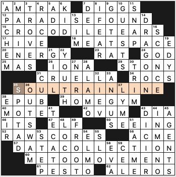 Saturday July 11 2020 Diary Of A Crossword Fiend
