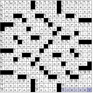Sunday July 5 2020 Diary Of A Crossword Fiend