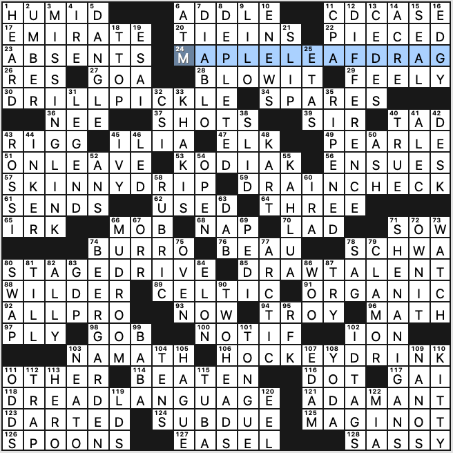 Sunday December 27 2020 Diary Of A Crossword Fiend